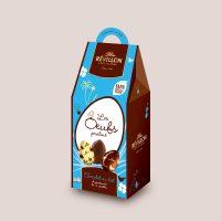 oeufs chocolat lait révillon
