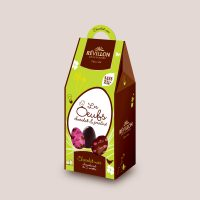 oeufs chocolat noir révillon